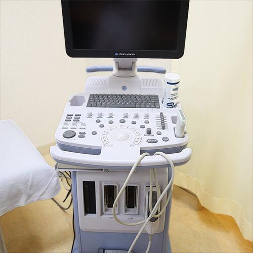 【写真】超音波診断装置(エコー)