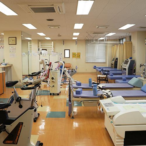 【写真】リハビリ室